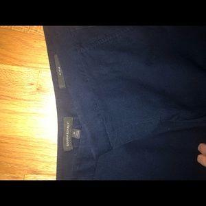 Banana Republic like new navy dress pants, sz 8